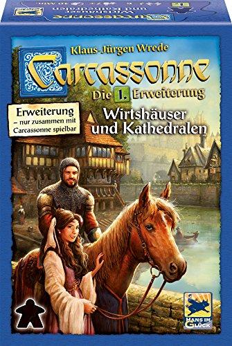 Schmidt Spiele, Hans im Glück - Carcassonne, Wirtshäuser und Kathedralen, Erweiterung I