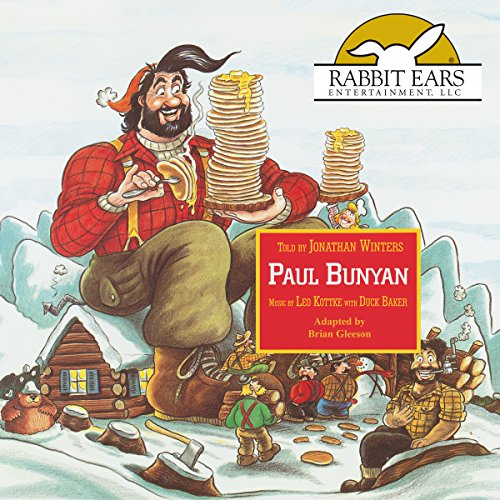 Paul Bunyan audiobook cover art