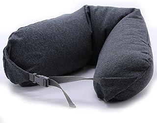 Travel Neck Head Memory Foam Lightweight Soft Pillow U-shaped Neck Pillow Support Cushion Office Nap Portable (Color : C)