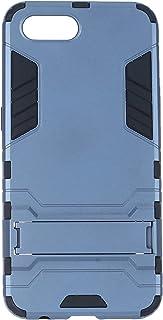 جراب خلفي صلب ايرون مان لموبايل اوبو ريلمي C2 واوبو A1K - ازرق واسود