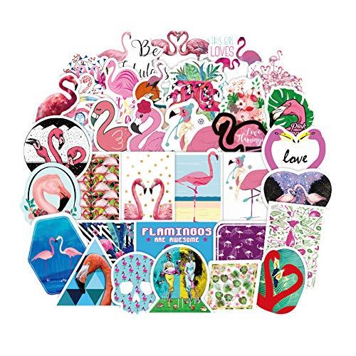 Aufkleber für Mädchen, niedlich, für Laptops, Wasserflasche, Skateboard, Motorrad, Handy, Fahrrad, Gepäck, Gitarre, Fahrrad flaminggo