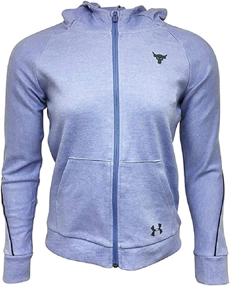 Under Armour Girls Full-Zip Jacket Cotton/Polyester Blend 1348539 Purple