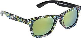 DC-Comics - Gafas de sol para niño Batman, color negro, talla única de 3 a 10 años