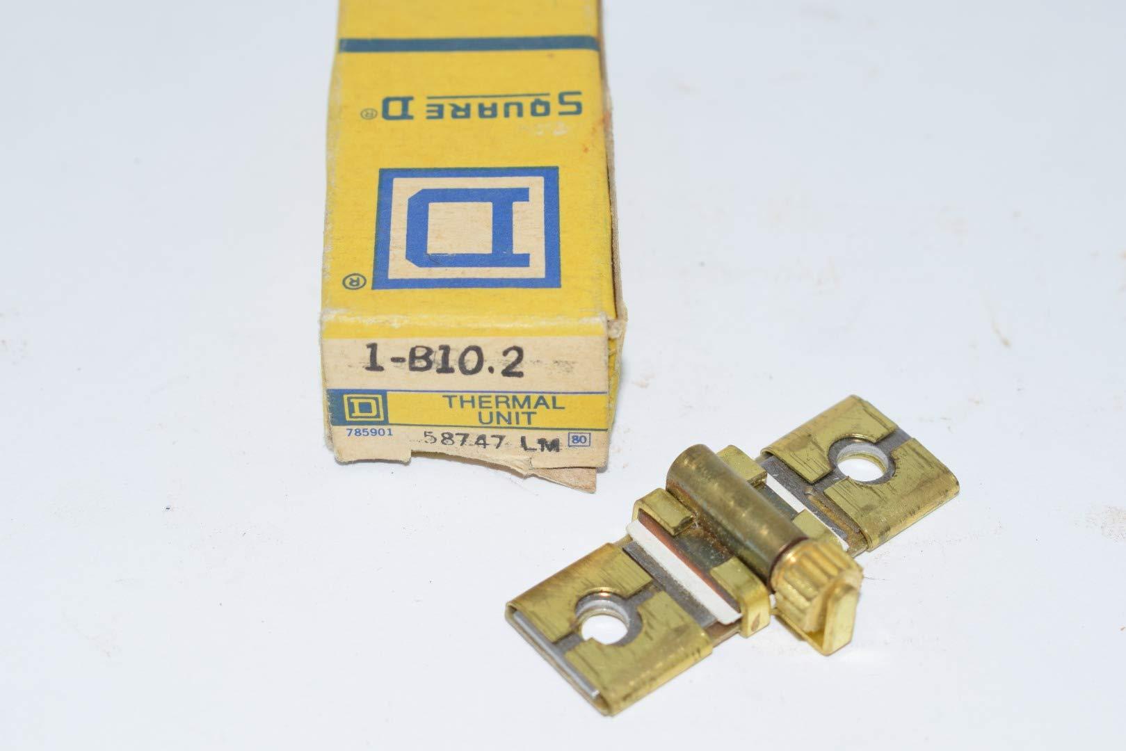 4 SQUARE D B2.10 OVERLOAD RELAY THERMAL UNIT B 2.10 NIB