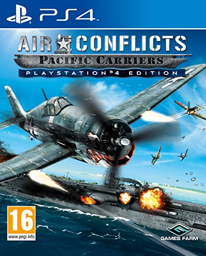 Air Conflicts: Pacific Carriers (Playstation 4) [UK IMPORT]