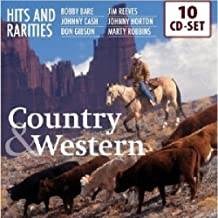 200 Hits and Rarities of Country & Western: Bobby Bare, Johnny Cash, Don Gibson, Jim Reeves, Marty Robbins, Johnny Horton, amo!