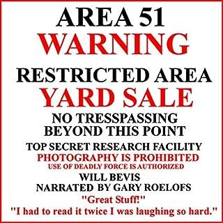 Area 51 Yard Sale audiobook cover art
