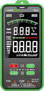 Digital multimeter, TANKOOL TK6 intelligent mätanordning palmstor strömmätare CAT III 600 V, True RMS bilsortiment, mäter ...