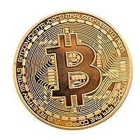 OUPU ビットコイン BitCoin 仮想通貨 高級感漂う 収蔵 贈り物 プレゼント 鑑賞 ホビー 集め (3C)