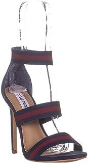 Steve Madden Carina Heeled Sandals, Navy/Burgundy