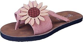 2021 nouvelles pantoufles de mode pour dames, personnalité et confortables tongs de mode pour dames en daim fleur plates c...