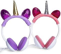 Unicorn Plush Headphones (Purple)