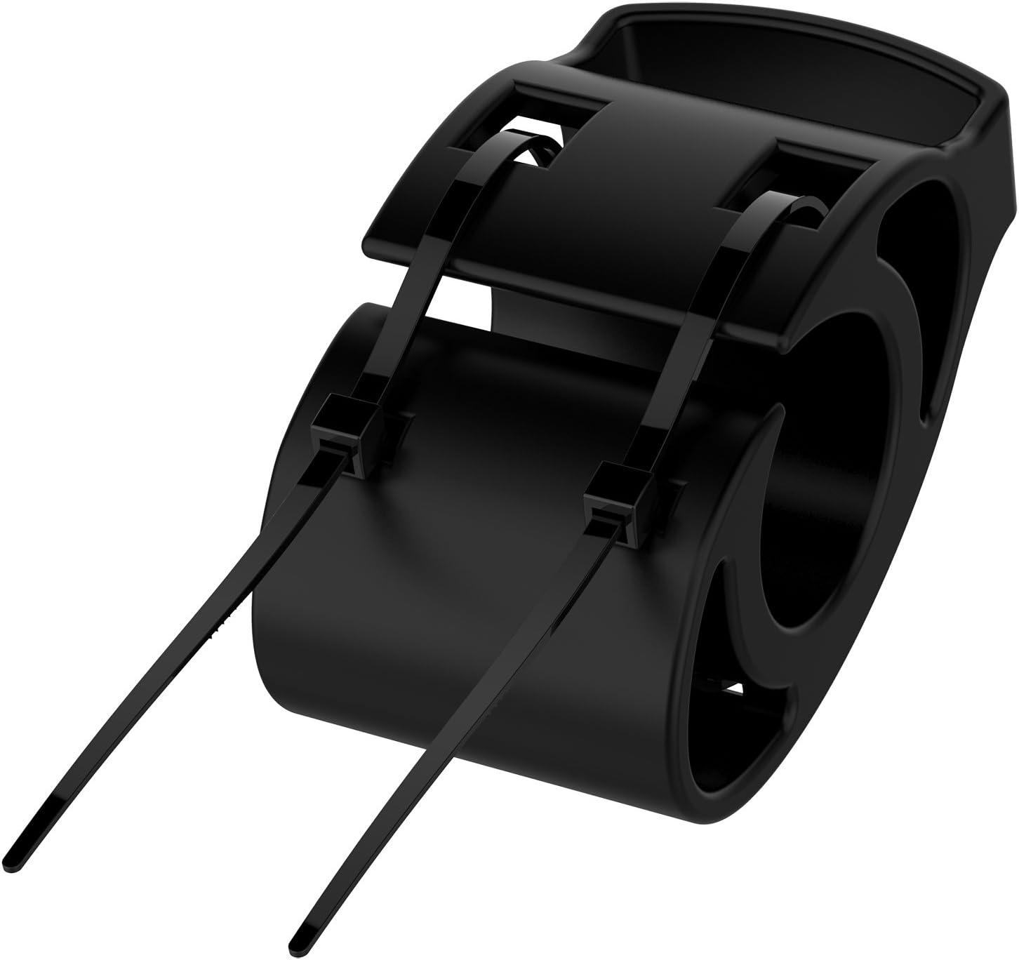 TenCloud Quick Release Bicycle Handlebar Mount Bracket Kit w/Zip Ties Replacement for Garmin Forerunner,Approach,Fenix Watches
