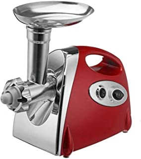 WSJTT Meat Grinder Electric,3-in-1 Sausage Stuffer and Metal Food Grinder,Household Electric Small Multifunctional Automat...