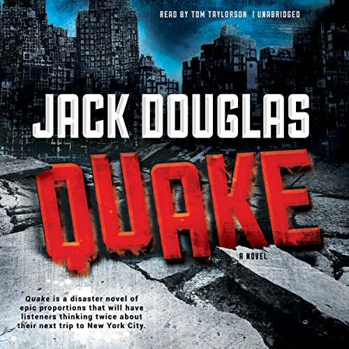 Quake audiobook cover art