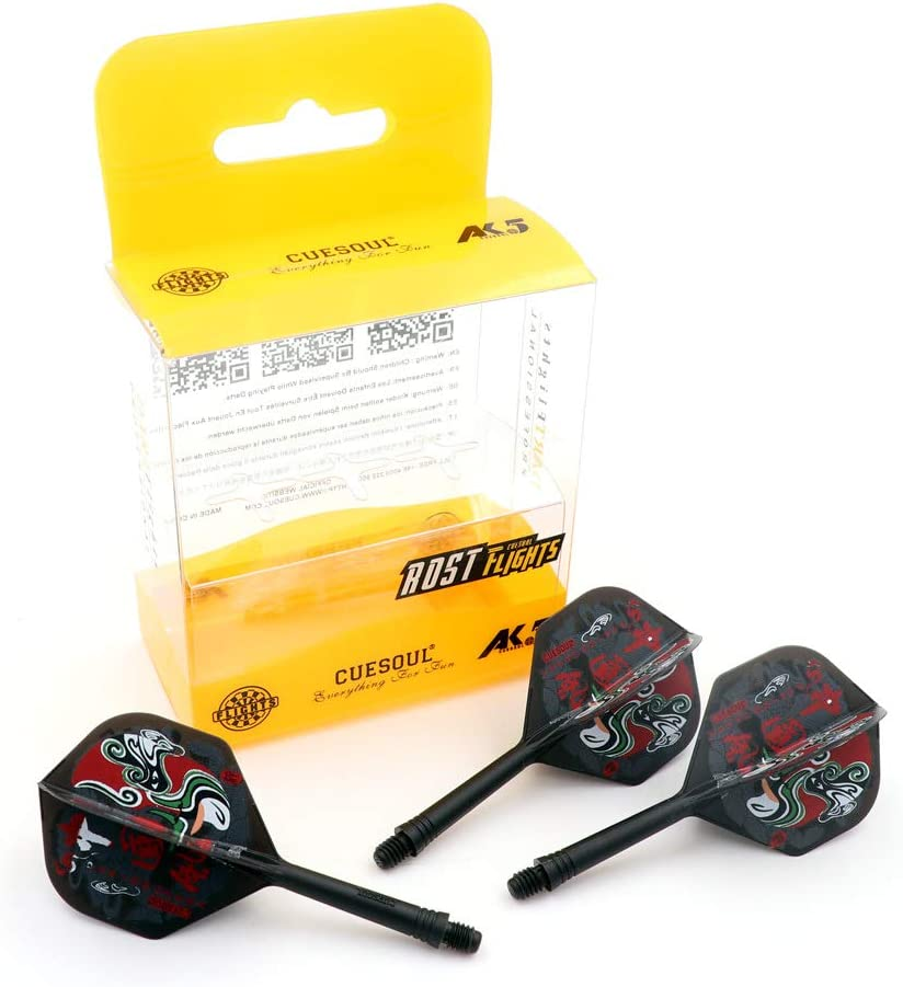 Ultra-Cheap Deals It is very popular CUESOUL ROST Integrated Dart Shaft Standard Flights Shape Pe and
