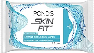 Pond's Skin Fit Post Workout Instant Cooldown Wipes, 30 Pieces