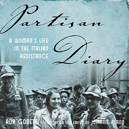 Partisan Diary audiobook cover art