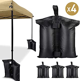 ALLYAOFA Canopy Weight Bags, Industrial Grade Heavy Duty Double-Stitched Weights Bag, Garden Party Outdoor Tent Leg Weight...