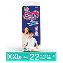 MamyPoko Pants Extra Absorb Diapers, XXL (Pack of 22)
