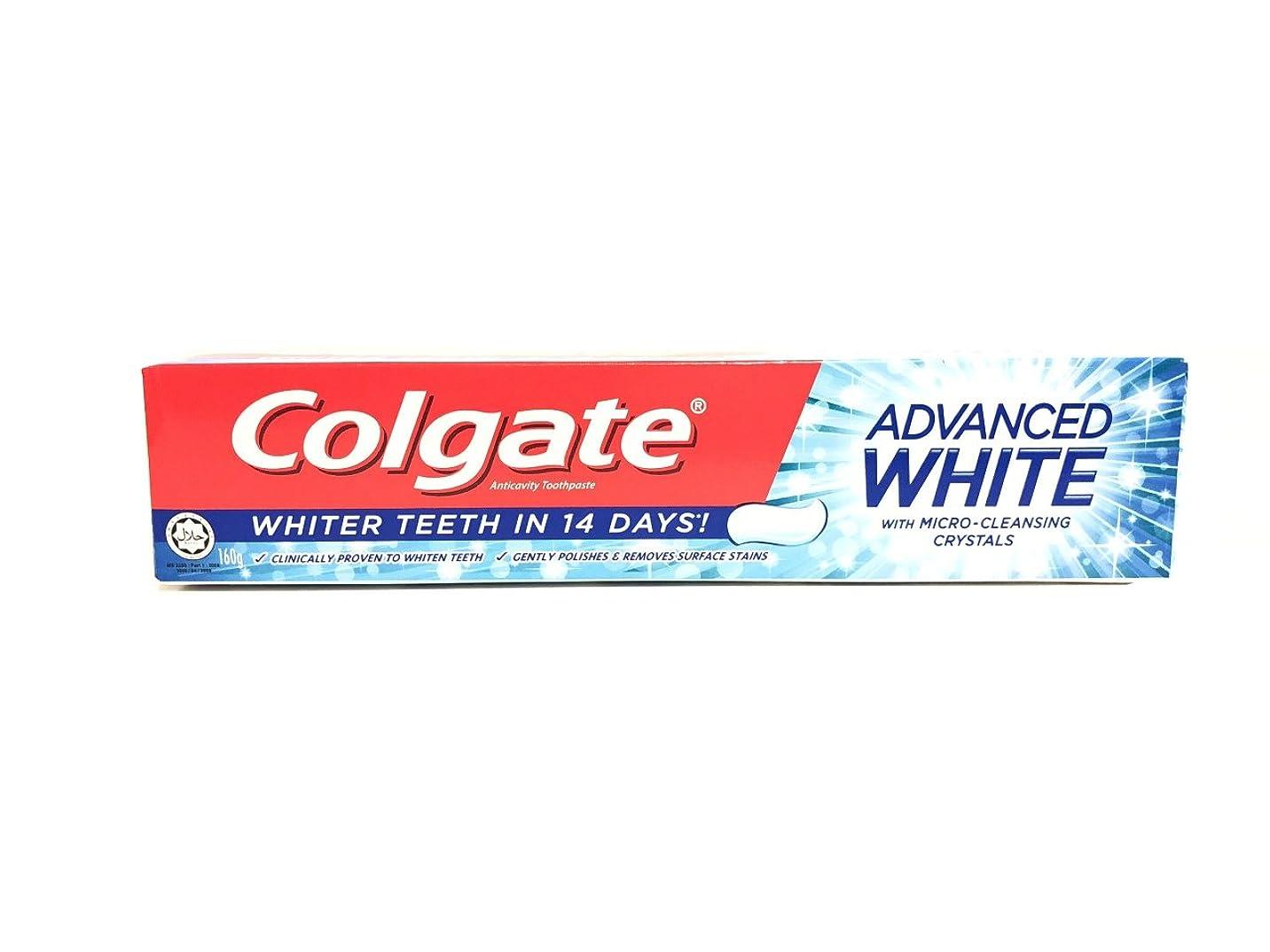 シャイニングボーカル波[ARTASY WORKSHOP?][並行輸入品] Colgate コルゲート 歯磨き粉 美白 ADVANCED WHITE 美白歯磨剤 虫歯予防 歯周病ケア 口臭改善 ホワイトニング (ADVANCED WHITE)