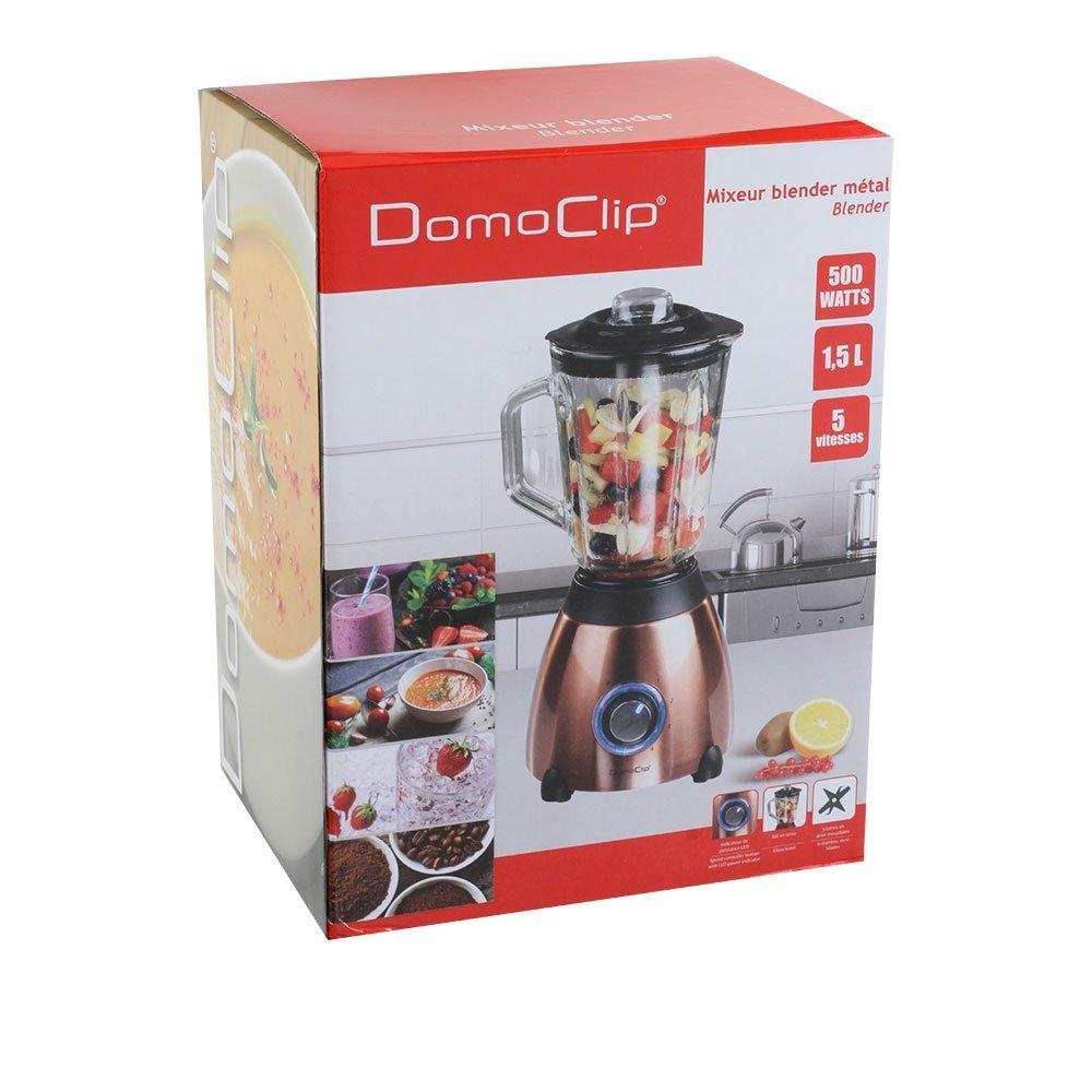 Domoclip dom171cu batidora licuadora Metal Color Cobre: Amazon.es ...
