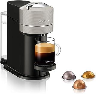 Krups XN910B Nespresso Vertuo Next kapsüllü kahve makinesi, 1,7 litre su haznesi, barkod ile kapsül tanıma özelliği, 6 fin...