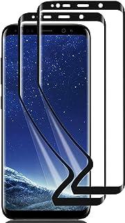 【2枚セット】【指紋認証対応】【2021最新アップグレード版】Galaxy S7 Edgeフィルム 専用 スクリーンプロテクター 【ディスプレイ指紋認証対応/3D全面保護/高感度/指紋防止/傷自動修復/取扱簡単/独創位置付け設計】【Galaxy...