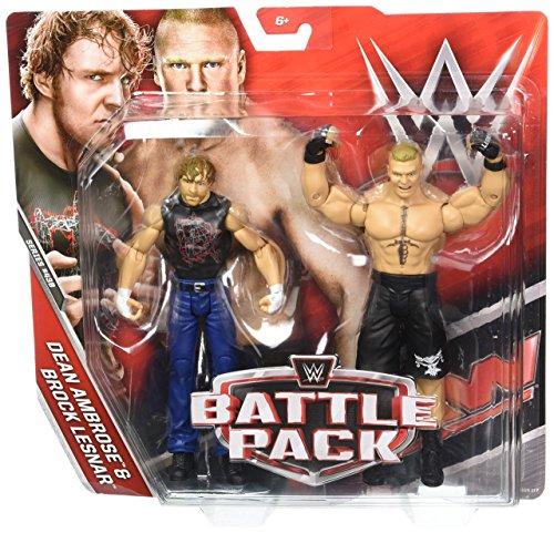 WWE-DEAN AMBROSE Y BROCK LESNAR