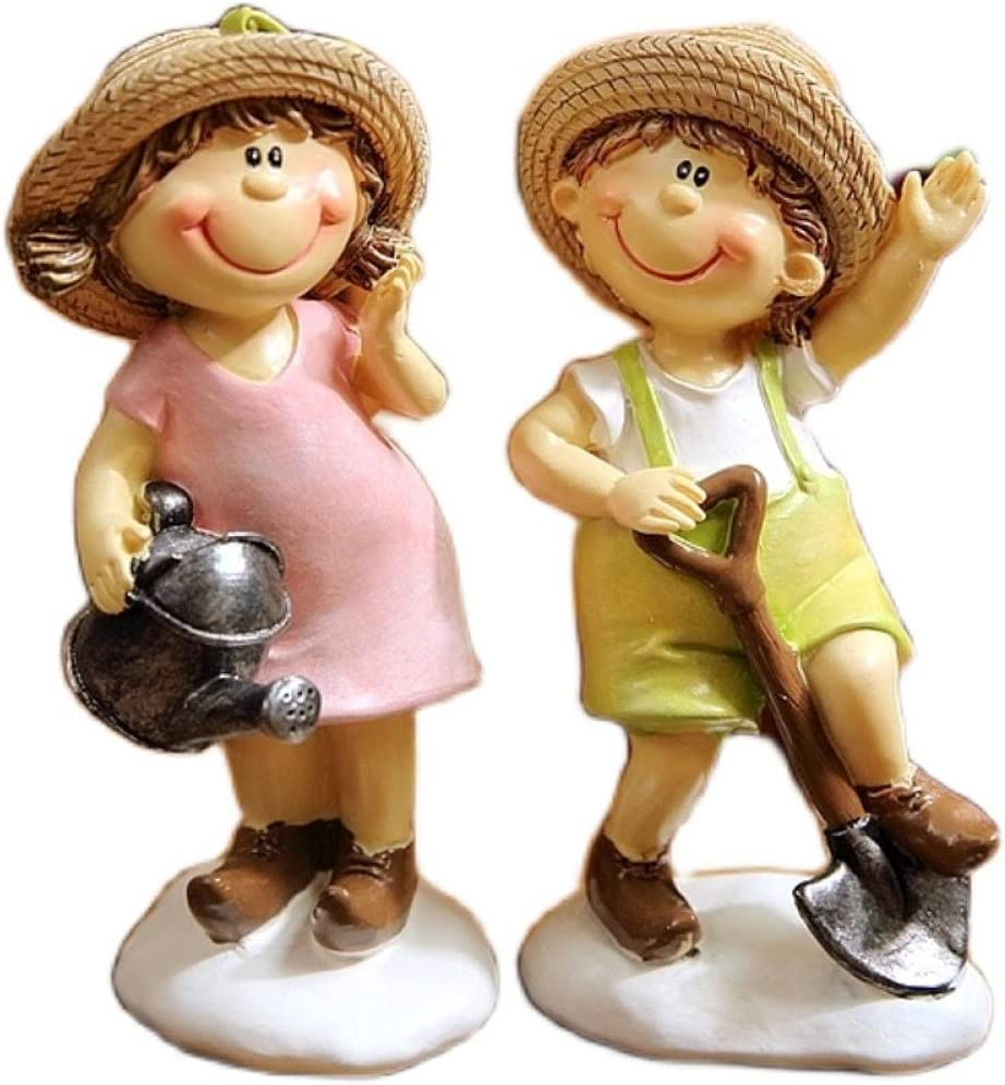 YQLKD Figurines Decor High quality new Items Sunshine Boy Girl Choice Couples and Sculpt