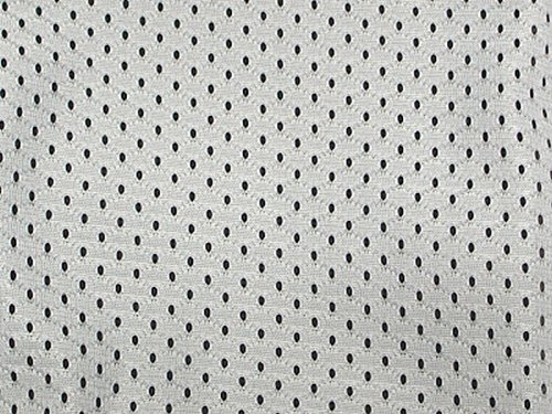 SyFabrics Large Sports Jersey mesh Fabric 58 inches Wide White
