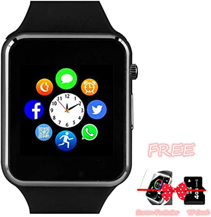 Smart Watch Bluetooth Smartwatch with Pedometer Camera...