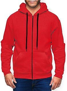 ENJYOP Men's Zip Hoodie High-Quality Sweatshirts Lightweight