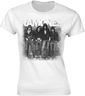 Plastic Head Ramones '1st Album Cover' Womens Fitted T-Shirt
