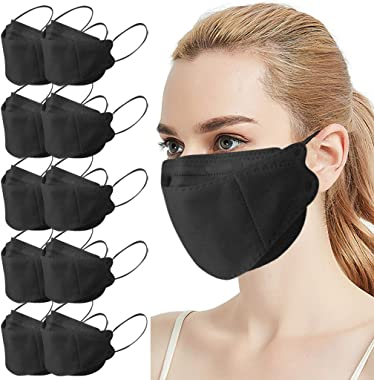 Hitrume [US Stock] KF94 Adult Outdoor Protection for Daily Use (10pcs,Black)