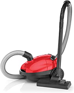 Black & Decker 1000 Watts Bagged Vacuum Cleaner, Red/Black – Vm1200-B5