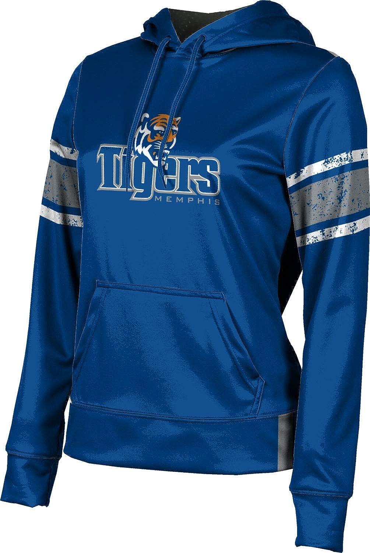 ProSphere University of Memphis Girls' Pullover Hoodie, School Spirit Sweatshirt (End Zone)