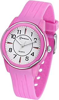 Kids Watch Waterproof,Kids Analog Watch for 3-15 Years Old Boys Girls Silicone Wrist Watches Child