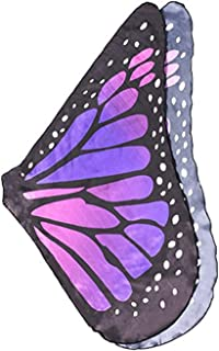 Prop Soft Fabric Butterfly Wings Shawl Fairy Ladies Nymph Pixie Costume Accessory