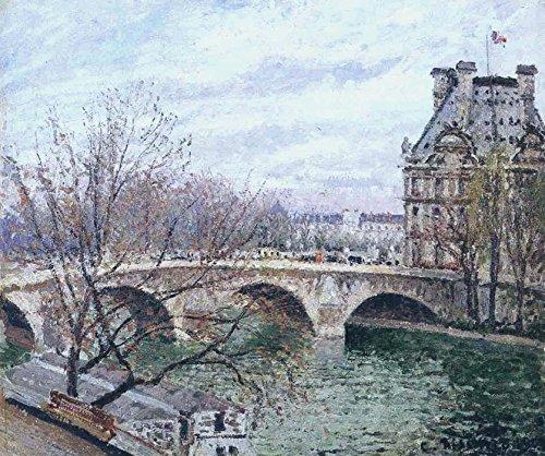 Het Museum Outlet - De Pont Royal en het Paviljoen van Flore, 1903 - Poster (Medium)