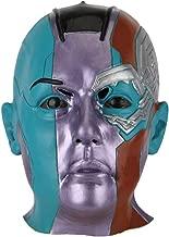 JCvCX Avengers Full Head Nebula Cosplay Mask Nebula Costume Props Helmet Masque Latex Halloween