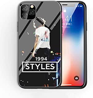 iPhone 7 Plus/8 Plus Tempered Glass Phone Case A-14 One Direction Harry Styles Soft Silicone TPU Cover
