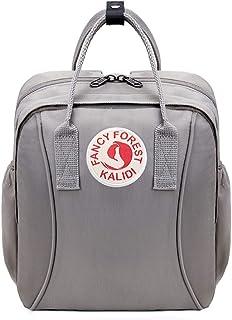 KALIDI Kinderrucksack Babytasche minirucksack für 1-4 Jährige Jungen und Mädchen im Kindergarten, Grau