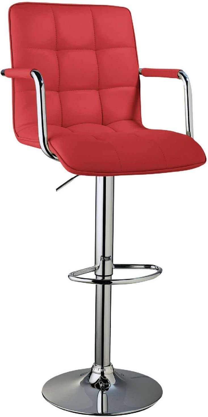 Roma Bar Chair Barstool Stool Kitchen Breakfast Swivel Pub Modern Dining Room Red Amazon Co Uk Kitchen Home