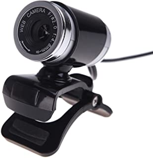 Ariw - Webcam USB 2.0 HD, 360 grados, 12.0 megapíxeles cám