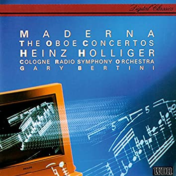 Maderna: Oboe Concertos Nos. 1-3