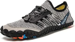 Unisex Summer Water Shoes Water Sport Barefoot Quick Dry Slip-on Lightweight Sneaker Outdoor Athletic Kayaking Boating Swim Dive Socks for Women Men