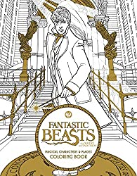 fantastic beasts and where to find them coloring book for adults