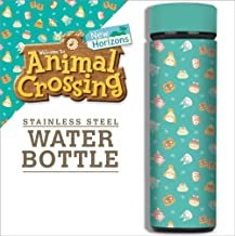 Controller Gear Authentic and Officially Licensed Animal Crossing: New Horizons - Nintendo Stainless Steel Water Bottle - ...