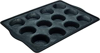 Zenker 685543 Moule 12 Muffins en Silicone Fibre de Verre, moule à muffins par 12, moule à 12 muffins, Silicone fibre de v...